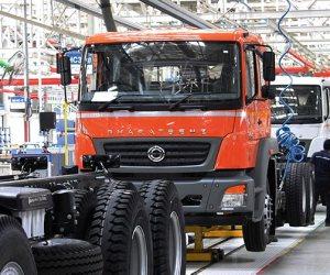 مبيعات الشاحنات تنخفض بنسبة %34.9 في أبريل