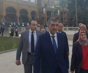 وزير قطاع الأعمال العام يفتتح المرحلة الأولى لتطوير فندق ماريوت القاهرة