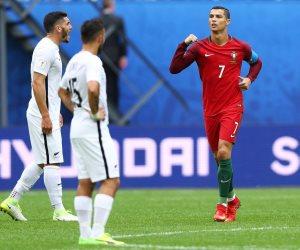 رونالدو يواصل تحطيم الأرقام القياسية مع البرتغال