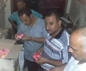 ضبط نصف طن حلوى مسرطنة قبل ترويجها بالعيد في سوهاج   ( صور )