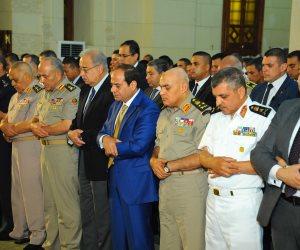 الرئيس السيسي يؤدي صلاة عيد الأضحى بالإسكندرية