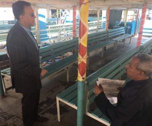 وزير النقل يشدد على فحص المراكب النيلية خلال احتفالات عيد الفطر (صور)