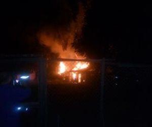 الدفع بـ 6 سيارات إطفاء للسيطرة على حريق أشجار حديقة الحيوان