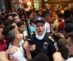 عناصر الشرطة النسائية تكثف تواجدها في الأماكن العامة لحماية السيدات من التحرش