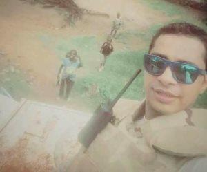 أهالي أبوتيج في انتظار جثمان النقيب حسن عبد السلام شهيد الواجب بسيناء