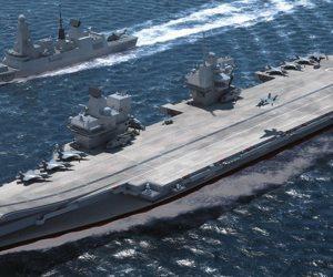 حاملة الطائرات الأمريكية رونالد ريجان تستعرض القوة قبالة شبه الجزيرة الكورية لتحذير بيونجيانج