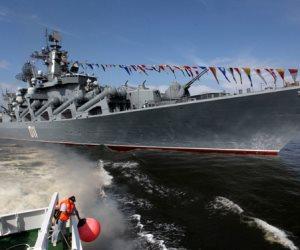 سفينة إنزال روسية تدخل البحر المتوسط
