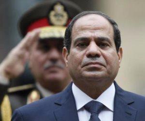 السيسي يتقدم الجنازة العسكرية لقائد المنطقة الشمالية