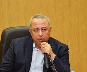 إقامة محطة رفع صرف صحي بمركز كفر صقر في الشرقية