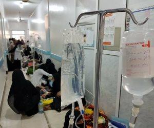 """""""الصحة العالمية"""" تكشف عدد ضحايا الكوليرا فى اليمن"""