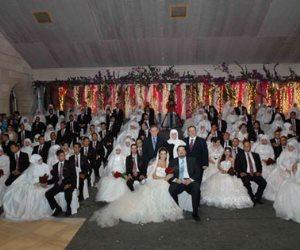 من أجل مصر تحتفل بزفاف جماعي لـ100 عريس وعروسة بسوهاج