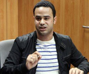 محمود بدر يسحق حازم عبد العظيم على تويتر ويطلق عليه«حازم بن تميم»