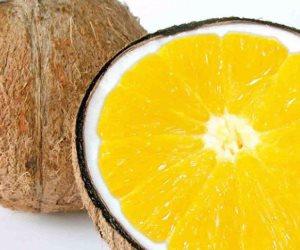 دي وصفة سهلة .. قشر البرتقال وزيت جوز الهند للتخلص من بقع الوجه