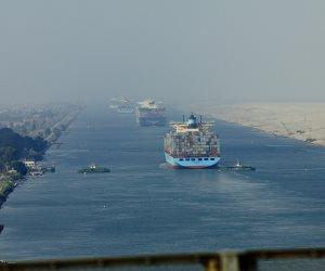 قناة السويس: 17 سفينة إجمالي الحركة بموانئ بورسعيد