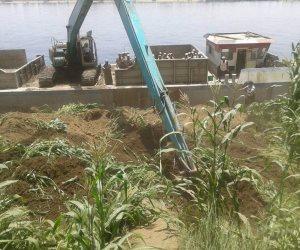 الري تكثف من حملاتها لإزالة التعديات النيلية الأسبوع المقبل
