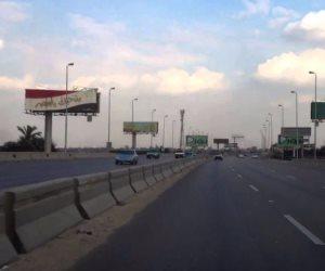 المرور: إغلاق الطريق الصحراوي الغربى بأسيوط بسبب سوء اﻷحوال الجوية