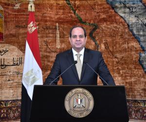 السيسي: مصر دولة محبة للسلام وعصية على الإرهاب