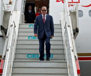 استعدادا لمغادرة الرئيس السيسي لروسيا.. سلطات مطار القاهرة تعلن فتح الصالة الرئاسية