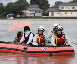 غرق نحو 500 منزل بشمال شرق اليابان بسبب هطول الأمطار الغزيرة