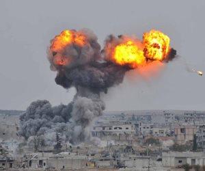 شاهد القصف الأمريكي على سوريا (فيديو)