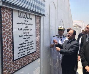 وزير الداخلية يفتتح مسجد الشرطة بالقاهرة الجديدة (صور)
