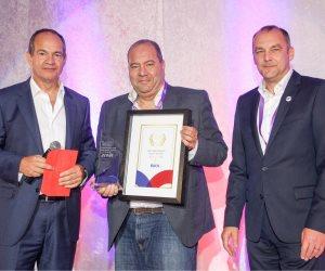 """""""NixdorfWincor""""  تمنح """"راية """" جائزة  أفضل شريك في الشرق الأوسط وأفريقيا"""
