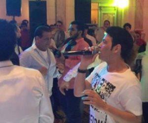 سعد الصغير يحتفل بفوز الأهلي في القمة 114 على طريقته الخاصة (فيديو)