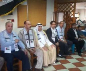 فلسطين تتضامن مع شهداء رفح.. غزة تقيم عزاء لأبطال الجيش المصري (فيديو)