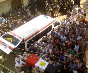 استعدادات مكثفة بالدقهلية لتشييع جثامين شهداء سيناء