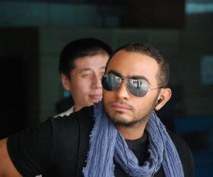 حقيقة خناقة تامر حسني مع أمن مطار القاهرة