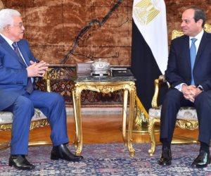 محمود عباس يصل إلى القاهرة للمشاركة في مؤتمر الأزهر العالمى لنصرة القدس