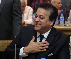 عبد الغفار يشهد حفل تكريم وتوزيع جوائز الدورة الرياضية للجامعات والمعاهد العليا