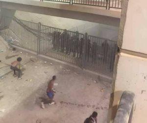استدعاء ضابط التحريات فى أحداث شغب برج العرب (صور)