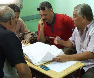 مدير إدارة سوهاج التعليمية يتابع امتحانات النقل (صور)