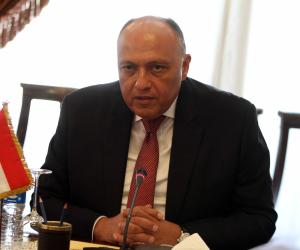 وزير الخارجية يعلن دعم مصر لمرشحة فرنسا فى انتخابات اليونسكو