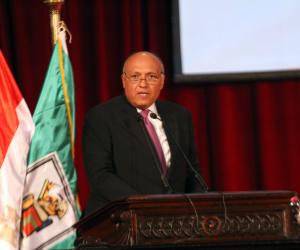 وزير الخارجية يلتقي نظيره الكويتي لبحث مستجدات الوساطة في أزمة قطر