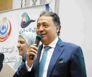 وزير الصحة يتفقد التجهيزات النهائية لمستشفى أبو رديس بجنوب سيناء