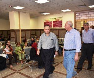 5 ملاحظات لمحافظ أسوان عن المستشفى العام الجديدة (صور)