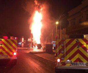 وفاة 11 شخصا بالسعودية بسبب حريق