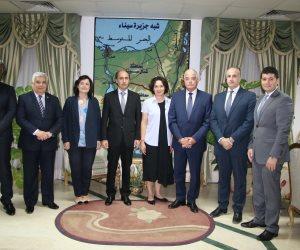 محافظ جنوب سيناء يستقبل سفير أوكرانيا في شرم الشيخ (صور)
