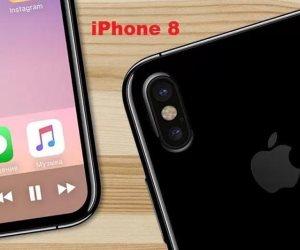 9 مميزات متوقعة فى هاتف  iPhone 8  الجديد .. منهم لوحة ظهر زجاجية.وشحن لاسلكي
