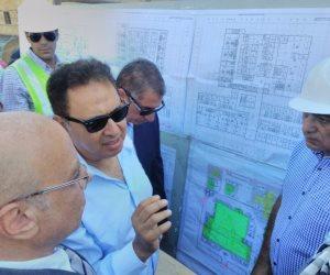 لجنة من الصحة لمعاينة مستشفى أبورديس استعداد لافتتاحه في أعياد أكتوبر