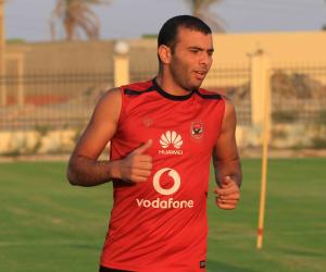 عماد متعب ينتظم في مران الأهلي استعداداً لبتروجت