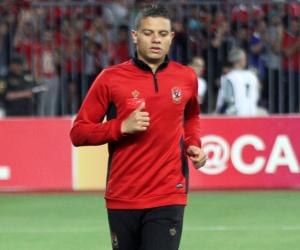 سعد سمير يغادر مران الأهلى فى تونس بعد 30 دقيقة بسبب الإصابة