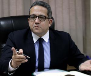 وزير الأثار ورئيس الهيئة الهندسية للقوات المسلحة يصلان سوهاج لتفقد المتحف القومي