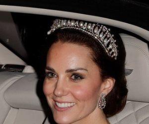 """""""كيت"""" تختار التاج الملكى المفضل للأميرة """"ديانا"""" لترتديه فى زيارتها لأسبانيا"""