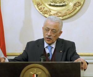 """وزير التعليم يتفقد مدارس بورسعيد ويشيد بالنظام التعليمي بـ""""الثانوية العسكرية"""""""