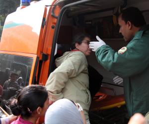 مصرع عامل في تصادم سيارة بدراجة بخارية على الطريق الزراعي بسوهاج