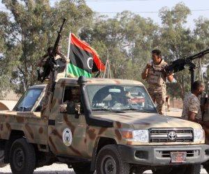 تحرير منطقة في جنوب شرق العاصمة طرابلس من الميليشيات والجيش الليبي يطاردهم