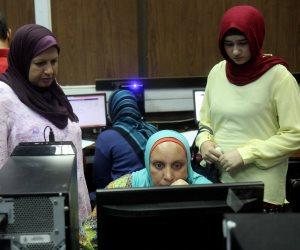 تسجيل رغبات 80 طالباً وطالبة في اليوم الثاني بكلية نوعية كفر الشيخ